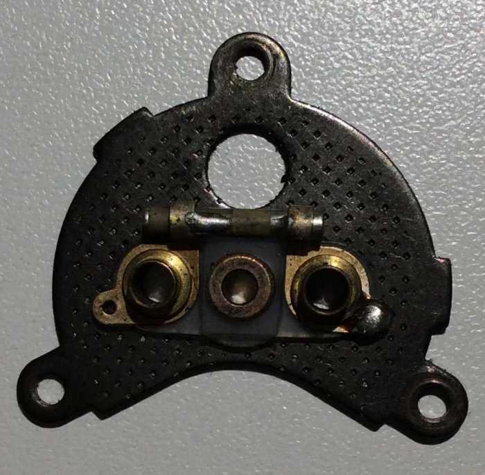vecchio copri motore