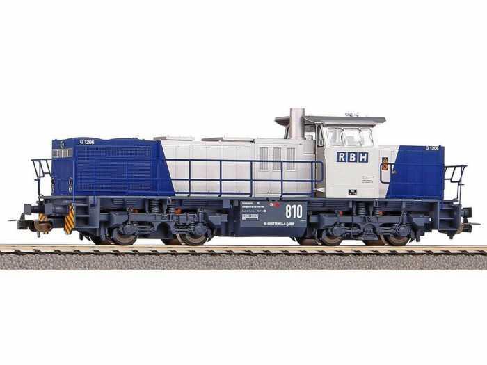 Locomotore diesel G 1206 RBH di Piko.